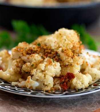 Cauliflower with breadcrumbs recipe