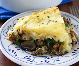 vegan shepherd's pie recipe