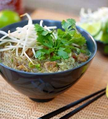 Vegan Pho Bo soup
