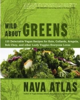 Wild About Greens by Nava Atlas - cover