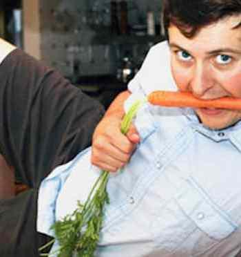 Sexy Vegan Brian Patton