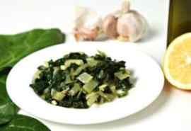 Simple Garlicky Greens