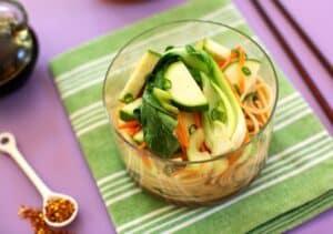 Asian Peanut-Sesame Noodles Recipe detail