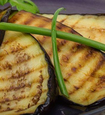 Grilled Eggplant Teriyaki