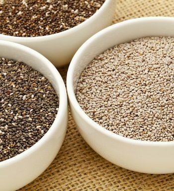 Chia seeds - varieties