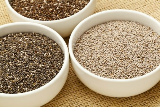 Chia seeds - varieties