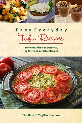 Easy everyday tofu recipes pdf e book vegkitchen easy everyday tofu recipes e book cover forumfinder Image collections