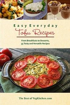 Easy Everyday Tofu Recipes e-book cover