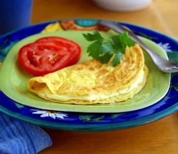 """""""momelet"""" vegan omelet by dreena burton"""