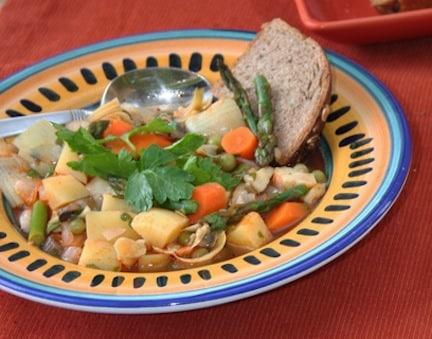 Spanish vegetable stew