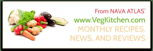 VegKitchen Monthly Newsletter Header