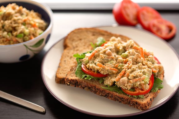 Sharon's chickpea salad or sandwich spread