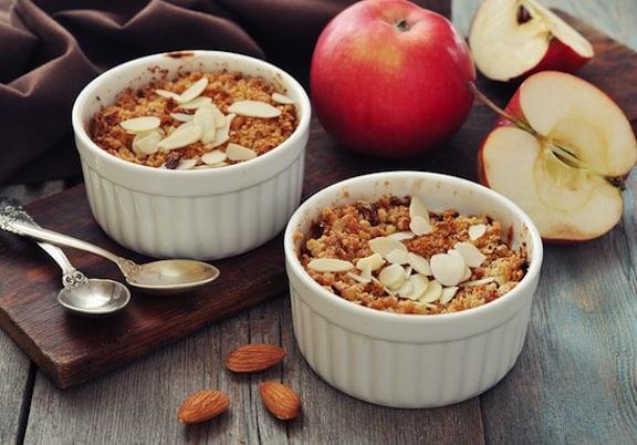 Apple crumble or crisp recipe