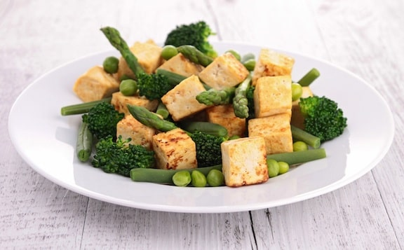 Sautéed tofu with veggies2