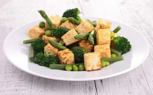 Sautéed tofu with veggies2