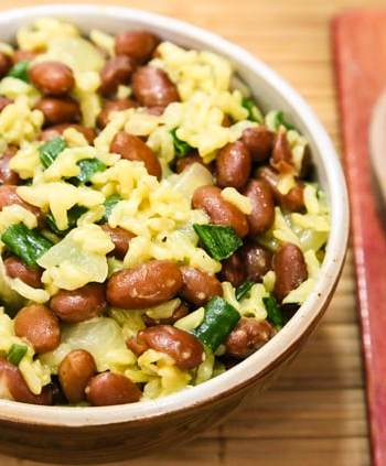 Easy Jamaican Rice and Peas