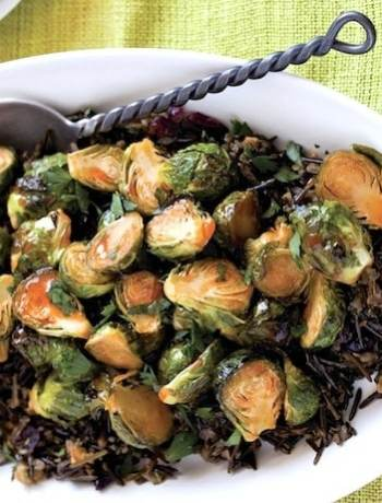 Maple-Sriracha Roasted Brussels Sproouts2 randy clemens