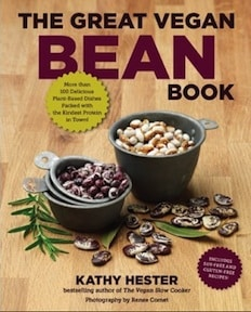 vegan bean book by kathy hester