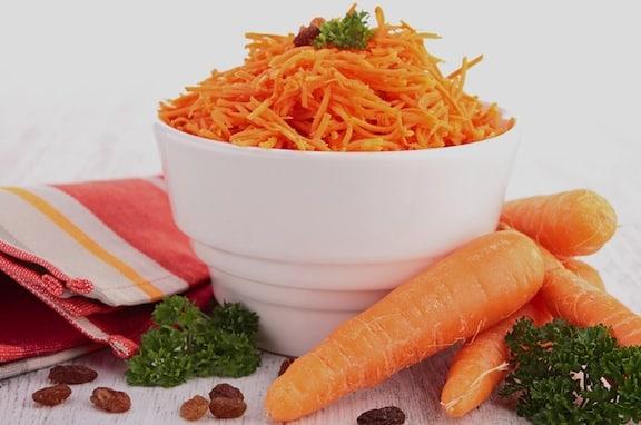 classic carrot raisin salad