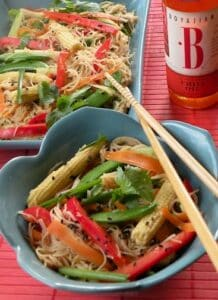 Chili-orange noodle