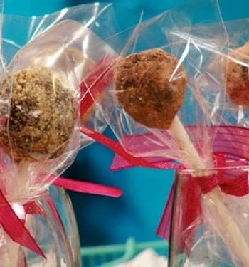 Chocolate Date Lollipops