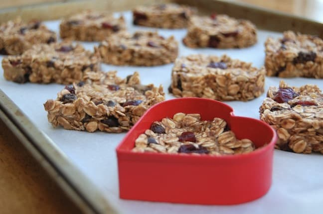 Heart Almond Bars Virtually Vegan Mama