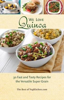 Quinoa pdf e-book cover - VegKitchen