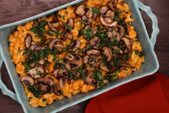 Sweet potato vegan mac n cheese recipe