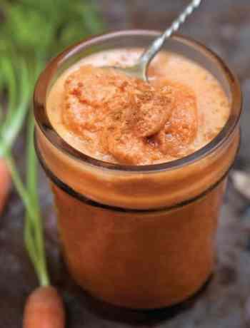 Carrot Maca Living Juice from Julie Morris