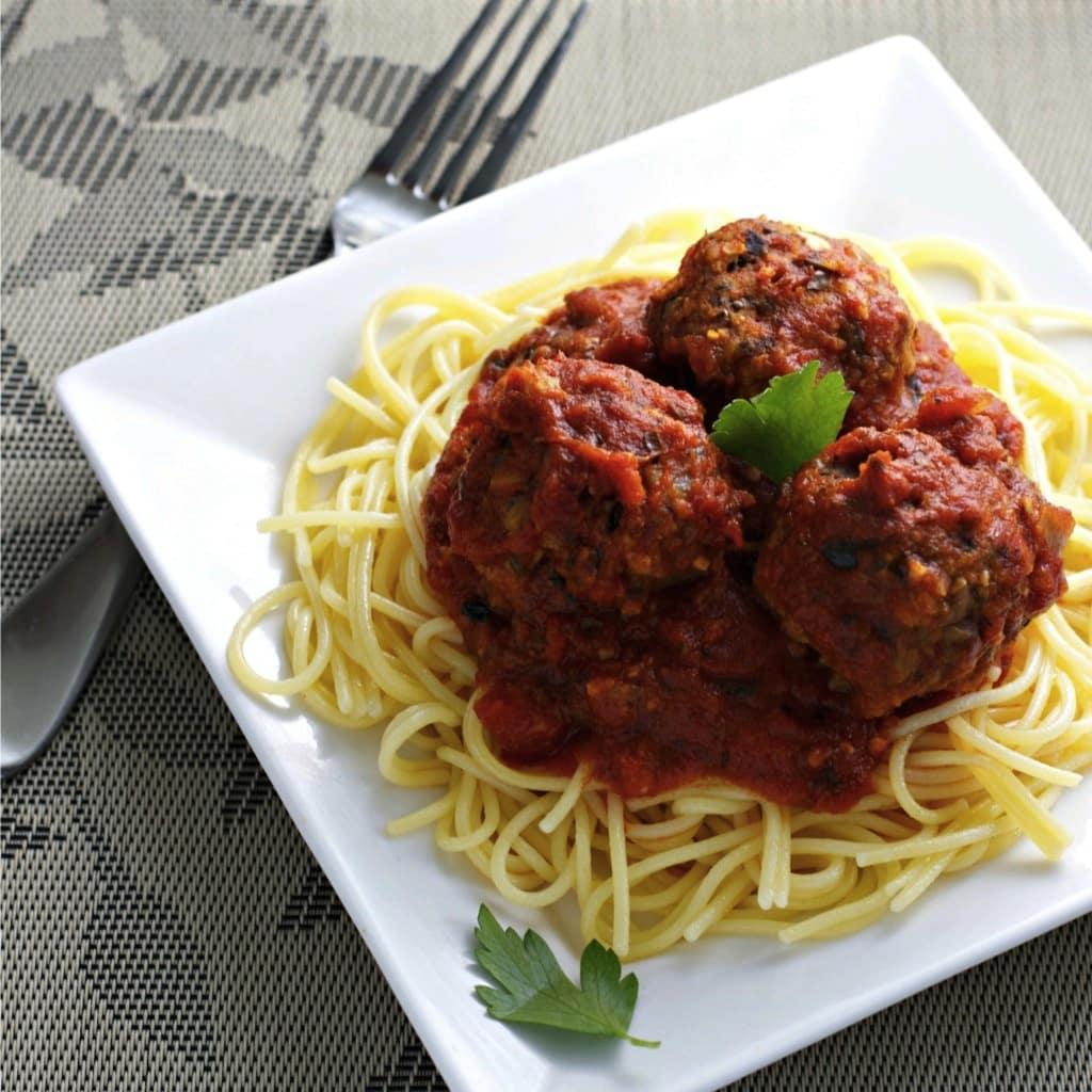 Mum Mums Vegan Meatballs by Christina Cavanaugh from Begin Within Nutrition