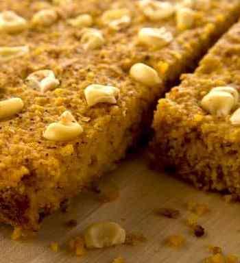 Pumpkin cornbread by Debbie Adler from Sweet Debbie's Organic Treats