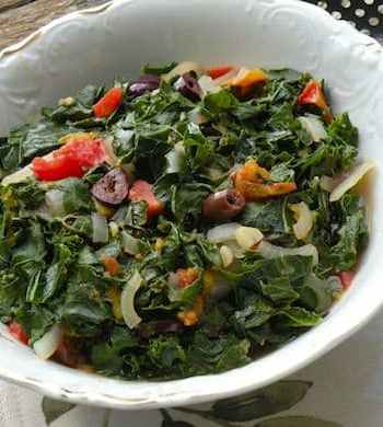 Italian-Style Braised Chard with Tomatoes