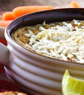 Vegan hot artichoke dip