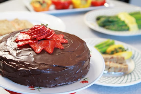 Ganache cake from Laura Theodore