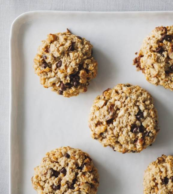 Cinnamon Tahini Cookies by Jenne Claiborne from Sweet Potato Soul