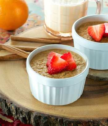 Baked Almond Butter & Apricot Oatmeal by Ann Oliverio