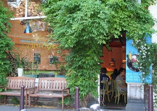 Restaurant De Bolhoed in Amsterdam