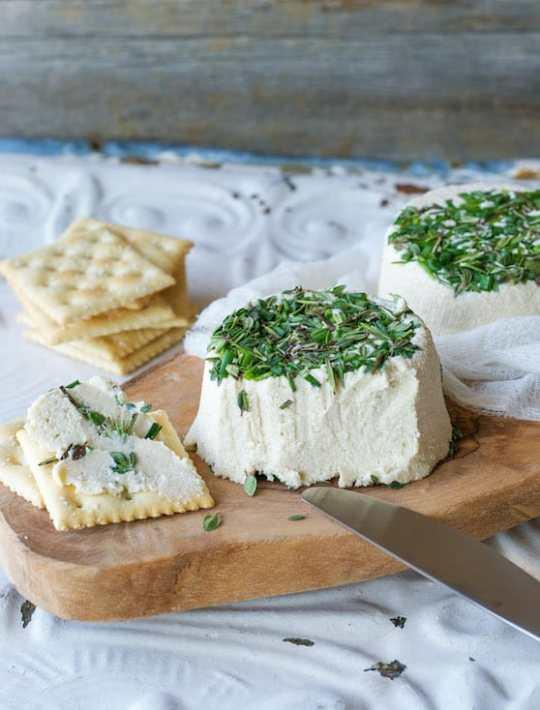 Vegan Herbed Garlic Cheez recipe by Ann Oliverio