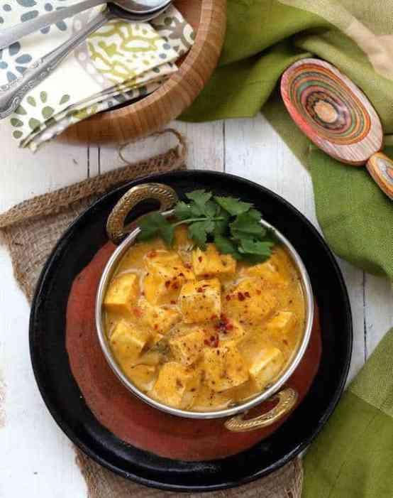 Tofu Mango Curry recipe by Vegan Richa