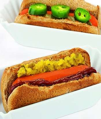 """Carrot """"hot dogs"""""""