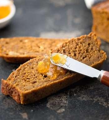 Vegan Three-grain brown bread