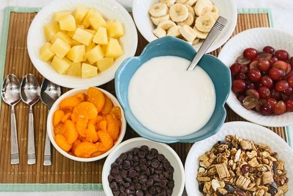 Fruit and Yogurt Ambrosia