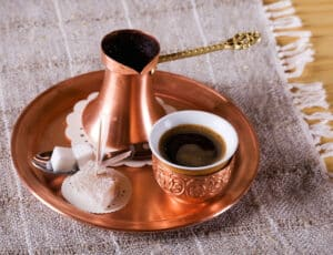 Turkish traditional coffee