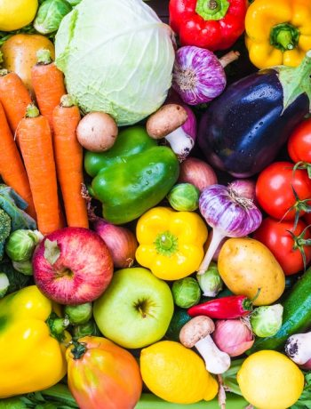 Different vegetables background.Healthy eating.