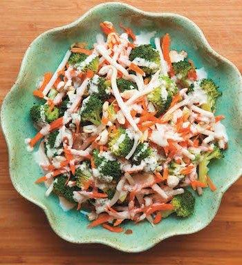 Lemony Garlic Broccoli Bowl