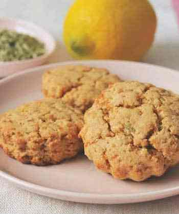 Lemon-Fennel Scone Bites
