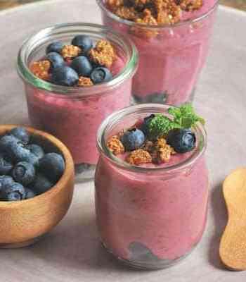 Raspberry Chia Breakfast Jars