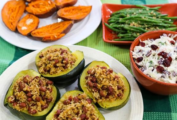 Last-minute vegan Thanksgiving dinner