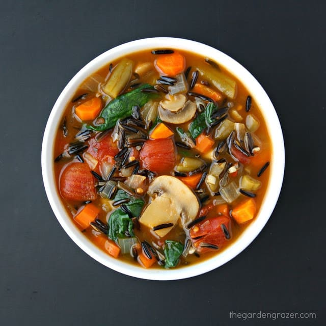 Wild Rice Vegetable Soup