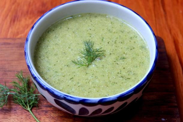 make ahead quinoa and dill bisque recipe